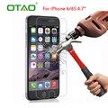 Protector de pantalla de cristal templado de cine para apple iphone 7 6 6 s plus 5S 5C SE 5 4S 9 H HD Clear Ultra Thin Protector resistente A Los Arañazos