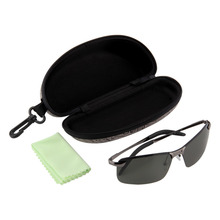 2017 Nueva Marca Óptica gafas de Sol Polarizadas de Los Hombres de Moda Masculina HD Conducción Pesca Gafas De Sol Oculos Gafas de Sol Gafas de Viaje