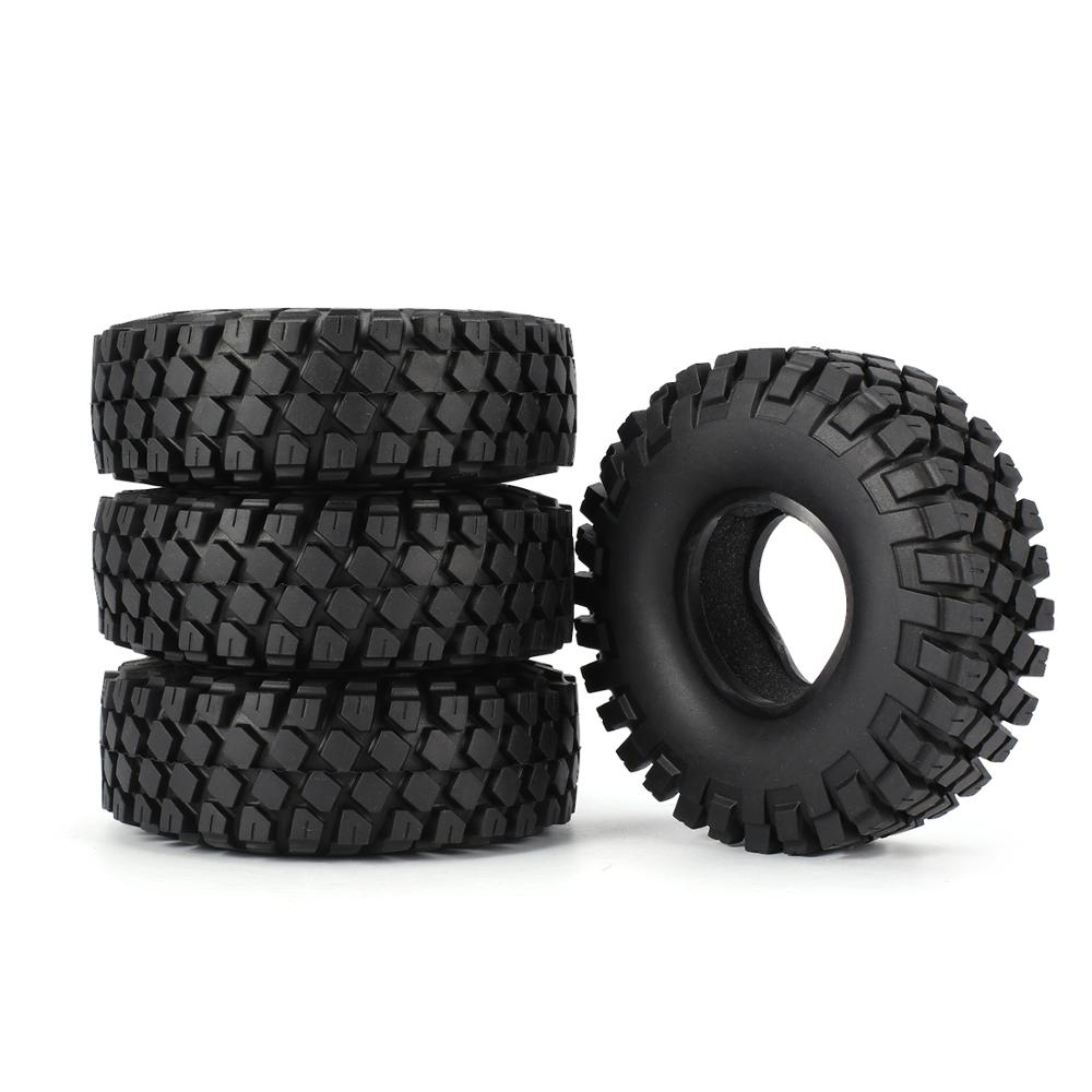 SURPASS HOBBY 6020 1 9 Inch 110mm Rubber Tires Tire with Metal Wheel Rim for 1 10 Traxxas TRX 4 SCX10 RC4D90 RC Crawler Car in Parts Accessories from Toys Hobbies
