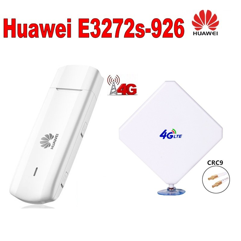 Nov priključek za anteno CRC9 ojačevalnika signala 35dBi, vključno s 4G širokopasovnim modemom Huawei E3272