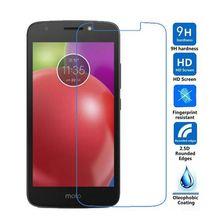 2pcs Tempered Glass sFor Moto E4 Screen Protector for Motorola XT1762 Protective Film