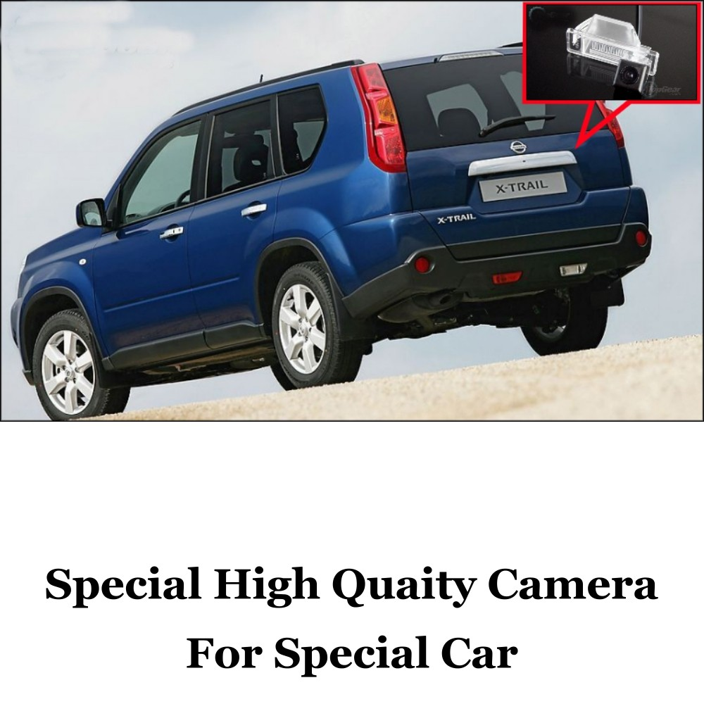Car Camera For Nissan X-Trail XTrail X Trail 2007~2012 High Quality Rear View Back Up Camera For Fans Use  CCD + RCA Car