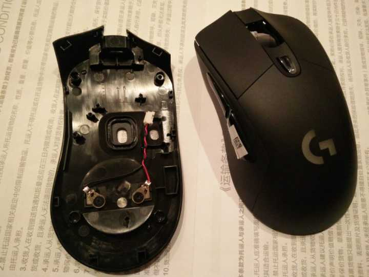 1 set original mouse housing mouse shell for logitech wireless mouse G403 genuine mouse case