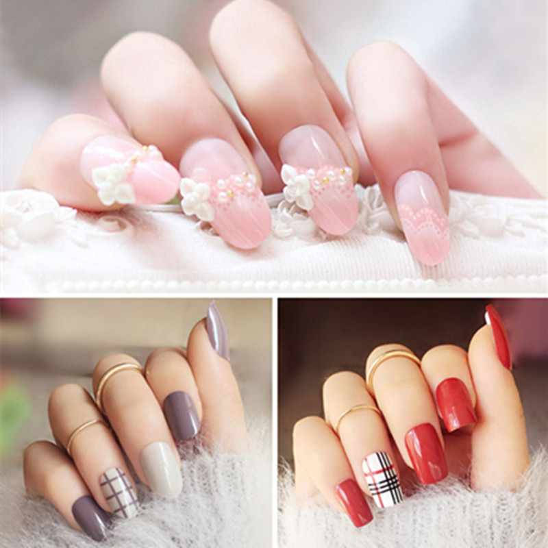 Zation Acrylic Nail UV Builder Pink White Clear Color Gel Acrylic ...