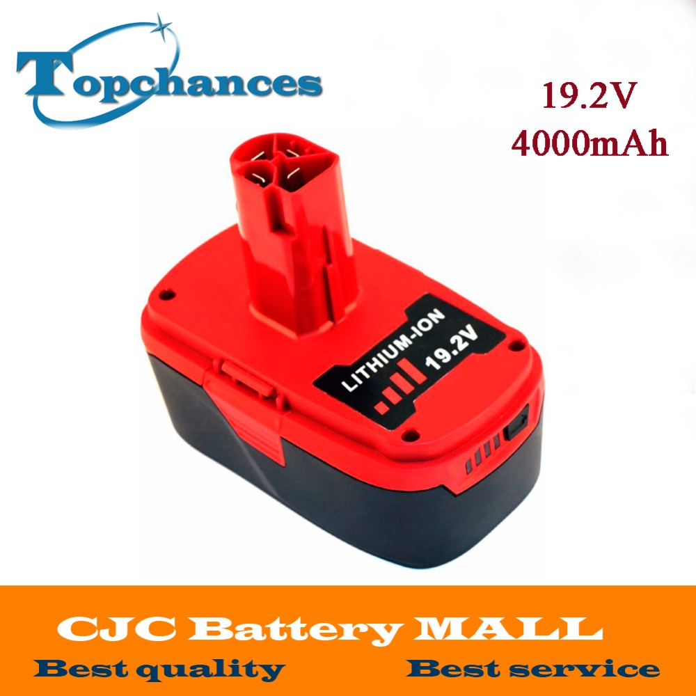 High Quality 19 2V 4000mAh Li Ion font b Power b font font b Tool b