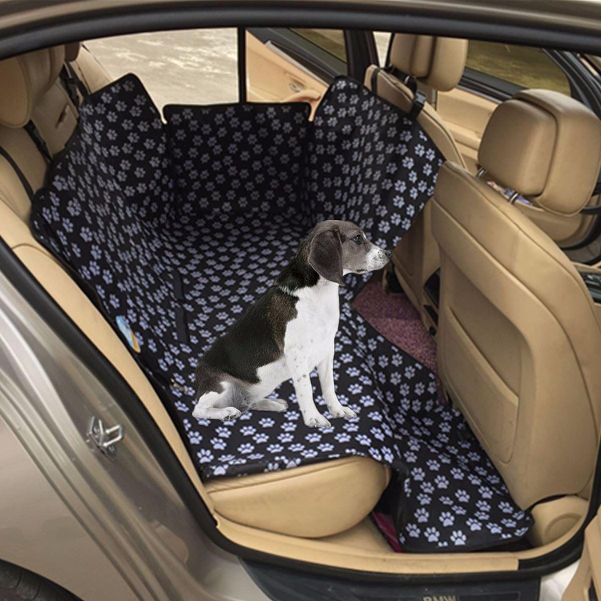 Auto Car Back Seat Cover Pet Dog Cat Mat Hammock Pet Carrier Safety Waterproof Dog Car Mats Footprint Protector 130 X 150 X 55cm