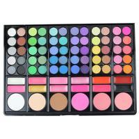 POPFEEL 1 Pc Eyeshadow Palette 78 Colors Glitter Matte Nude Eye Shadow Makeup Kit Pro Make