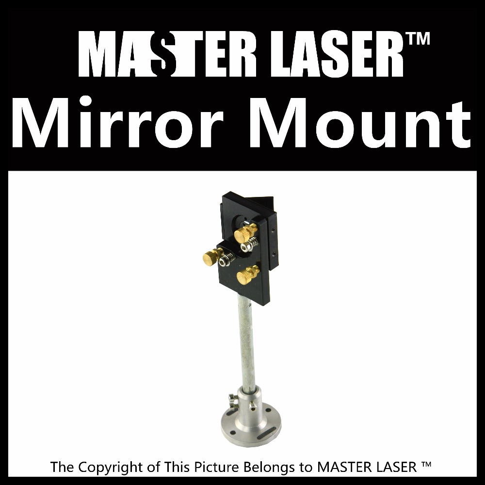 Best Quality  Aluminum head   First Mirror Mount for CO2 Laser Engraving/Cuuting Machine Laser Mirror Mounts best quality aluminum laser head for co2 laser cutting engraving machine lens dia 20mm fl63 5mm left in beam