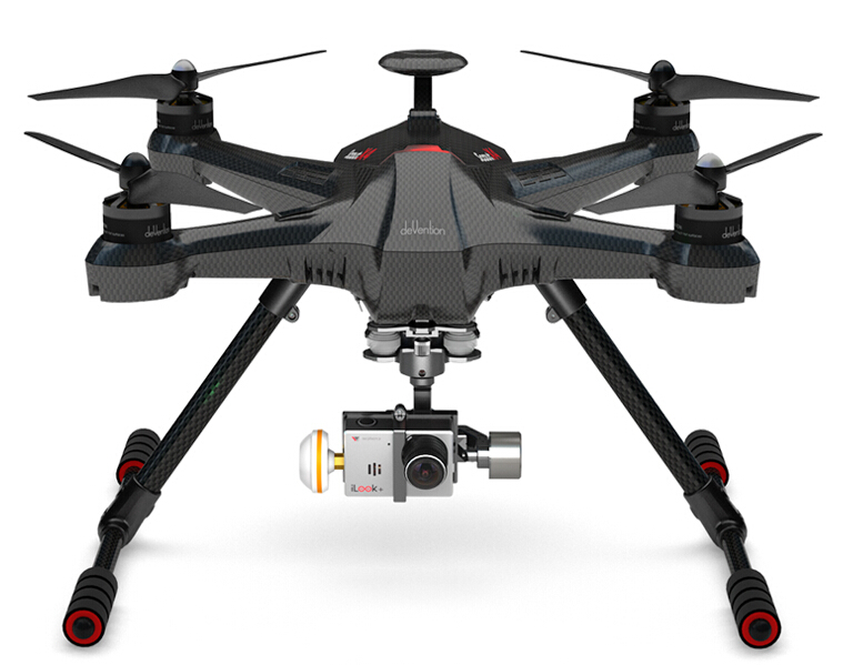Walkera Scout X4 FPV Aerial aircraft With Ground Station Version B for Iphone Android Free Express Shipping цена