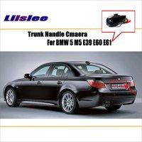 Liislee Car Rear View Camera For BMW 5 M5 E39 E60 E61 / Reverse Camera / HD CCD RCA NTST PAL / Trunk Handle OEM