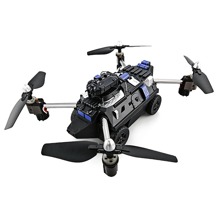 цена JJRC H40WH 2-in-1 RTF WiFi FPV 720P HD RC Flying Tank Quadcopter
