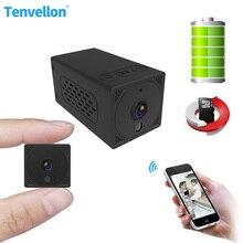 Ip kablosuz kamera Mini boyutu akıllı ev güvenlik koruma kameraları CCTV gözetim kablosuz şarj edilebilir pil ses kamera wifi