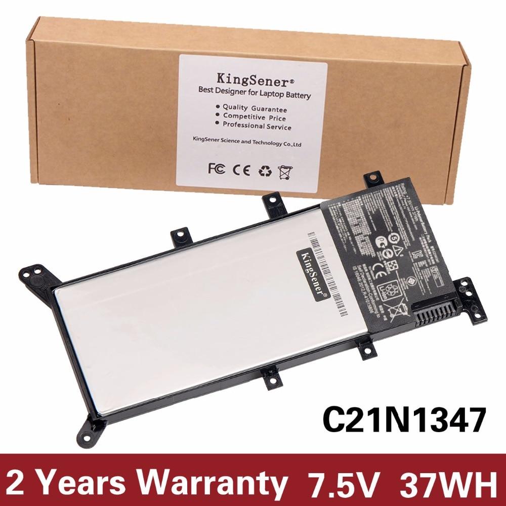 все цены на 7.5V 37WH KingSener New C21N1347 Laptop Battery For ASUS X555 X555LA X555LD X555LN 2ICP4/63/134 C21N1347 Free 2 Years Warranty онлайн