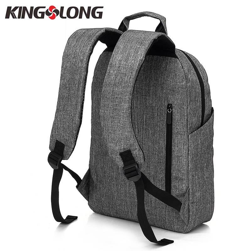 KINGSLONG Məktəb Sırt Laptop Çanta Sırt çantaları - Bel çantaları - Fotoqrafiya 2