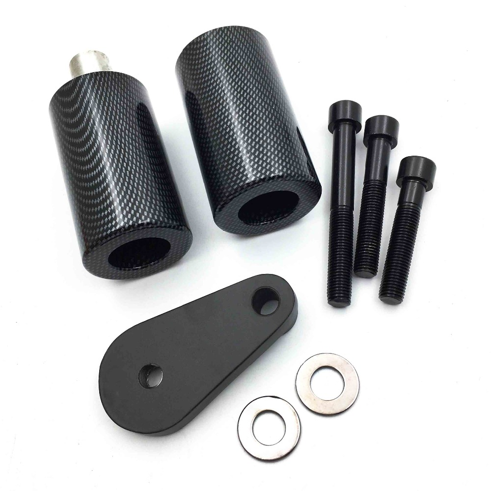 Aftermarket Free shipping motorcycle parts No Cut Frame Slider Protector For Yamaha 2003-2005 YZF R6 2006-2009 R6S Carbon