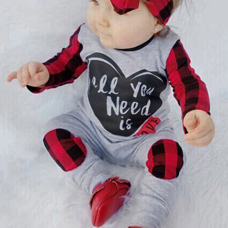 Autumn Winter Newborn Rompers Baby Boys Girl Long Sleeve Check Clothes Plaid Jumpsuit Romper Outfits newborn infant baby girl cotton clothes romper long sleeve plaid zipper cute jumpsuit rompers clothing outfits