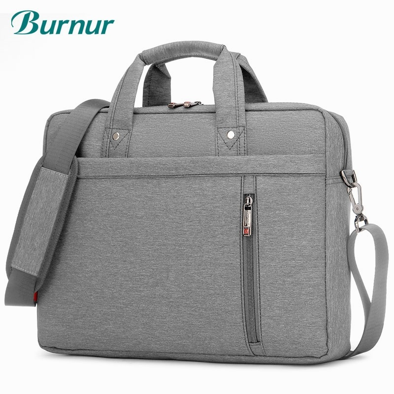 Burnur 12 13 14 15 17 Inch Waterproof Nylon Computer Laptop Notebook Tablet Bag Case Sleeve Messenger Shoulder Unisex Bag peak performance heli liner