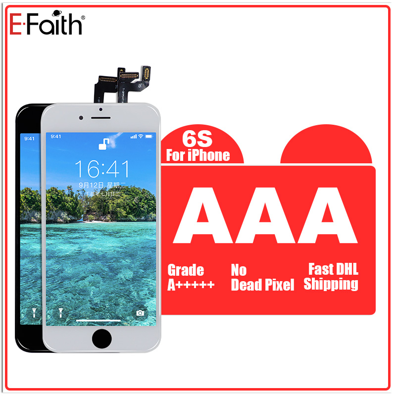 E Faith 10PCS lot LCD For iPhone 6s plus 6S Replacement with Touch Screen Digitizer Assembly