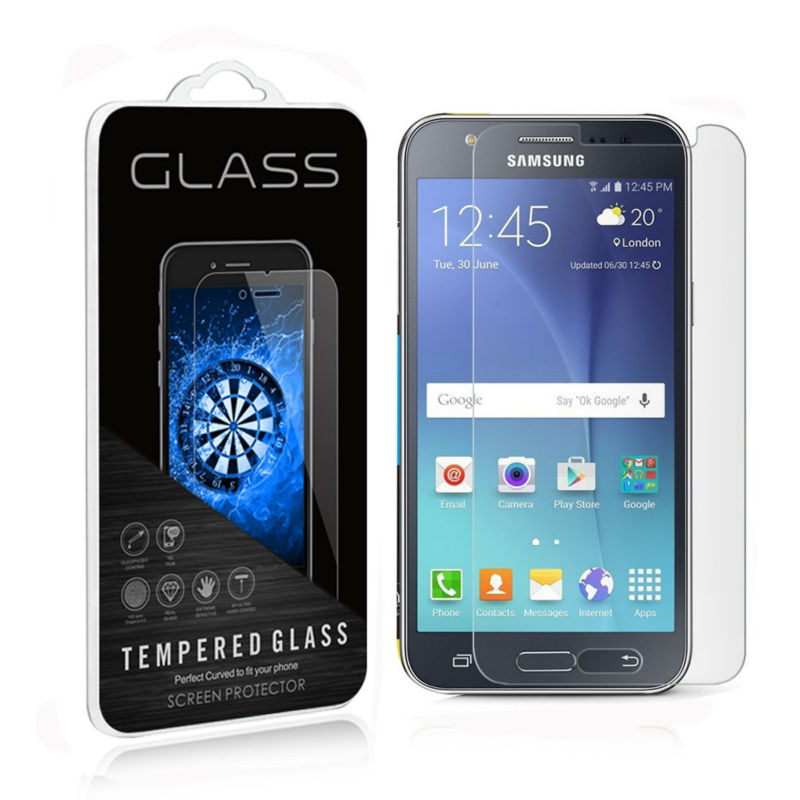 For Samsung Galaxy J5(2016) J510FN J510Y Tempered Glass Screen Protector 9H 0.3mm 2.5D Round Edge for Galaxy J5 2015 J500