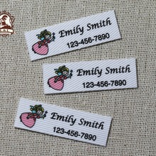 Name-Labels Custom Personalized Clothing-Tags for Child Organic 152pieces