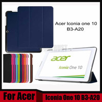3 In 1 Ultra Slim Smart Magnetic Skin Case Cover For Acer Iconia One 10 B3