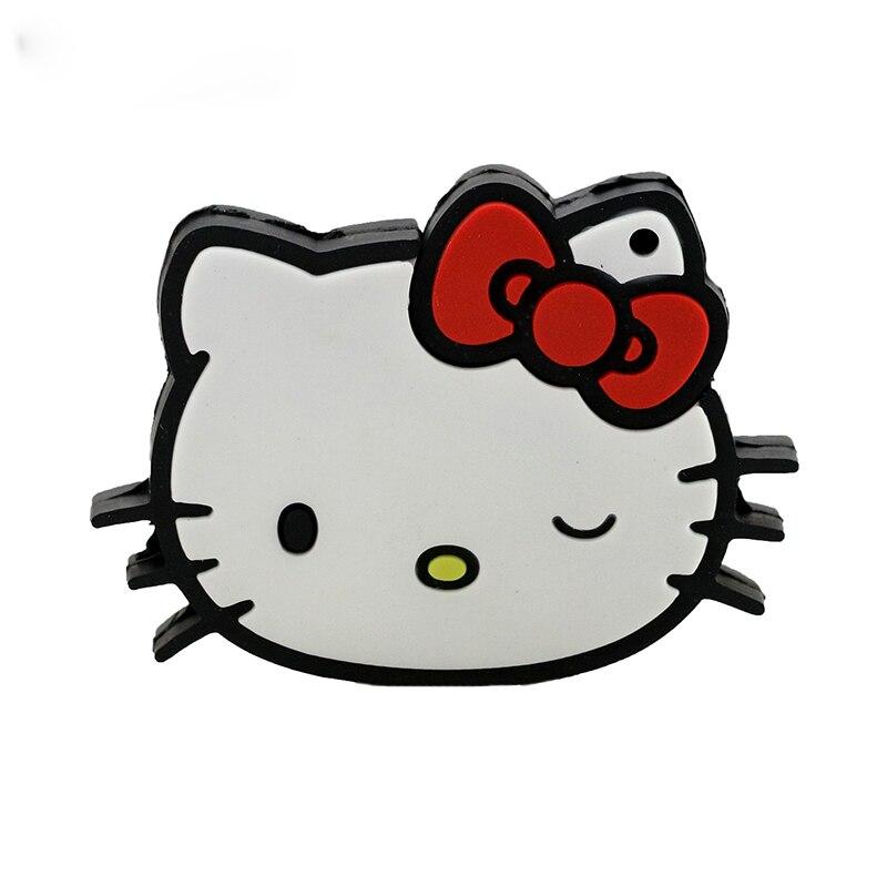 Real capacity memory flash card thumb Cute anime cartoon hello kitty USB stick 4GB/8GB/16GB/32GB Gift flash card