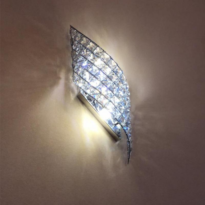 Чешские ясно настенное бра светильники для коридора, современные тропические G4 Светодиодный светильник стены прихожей тщеславие освещени