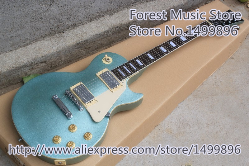 Hot Selling Matte Finish Rosewood Fingerboard LP Standard Electric Guitar As Picture In Stock hot selling cheap price sg standard electric guitar bigpsy tremolo stain finish chinese guitars in stock for sale
