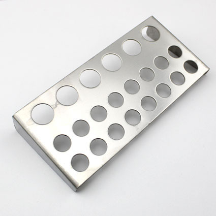 Tattoo Stainless Steel Ink Cup Holder Stand Holes Silver Color Accessories Supplies Makeup 22 Holes Pigment Container Stand