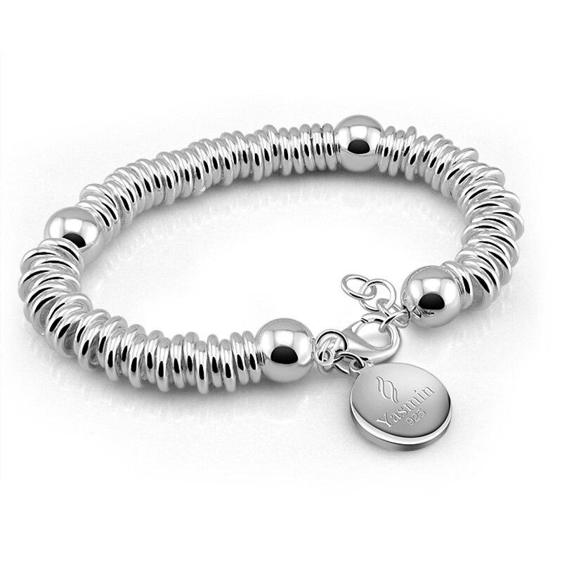 4 pans l16-25cm 925 argent largeur de 2,2 à 12mm Ancre Chaîne Bracelet