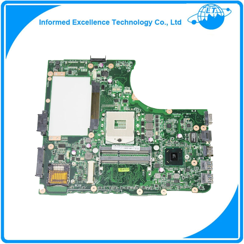 Top quality Laptop Motherboard for ASUS N55SF N55SL N55S REV 2.0 HM65 60-N5FMB3600B03 DDR3 full Tested shipping off for asus m50sr laptop motherboard m50vm rev 2 0 motherboards 100% tested free shipping