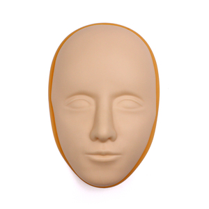 Image 5 - 5D Facial Tattoo Training Head Silicone Practice Permanent Makeup Lip Eyebrow Tattoo Skin Mannequin Doll Face Head
