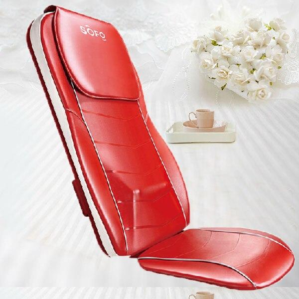 3D Multifunctional Vibrator Massage Chair Mat Full Body Massage Relax Machine for Sale