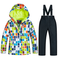 Ski Jacket Kids Winter Snow Girls And Boys Clothes Windproof Waterproof Warm Kids Ski Suit Children Ski Jacket And Pant Brands