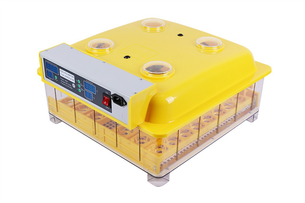 Brand  New incubator 48 eggs Turning chicken duck goose egg  incubator control hatching temperature brand new a155 6 48 288