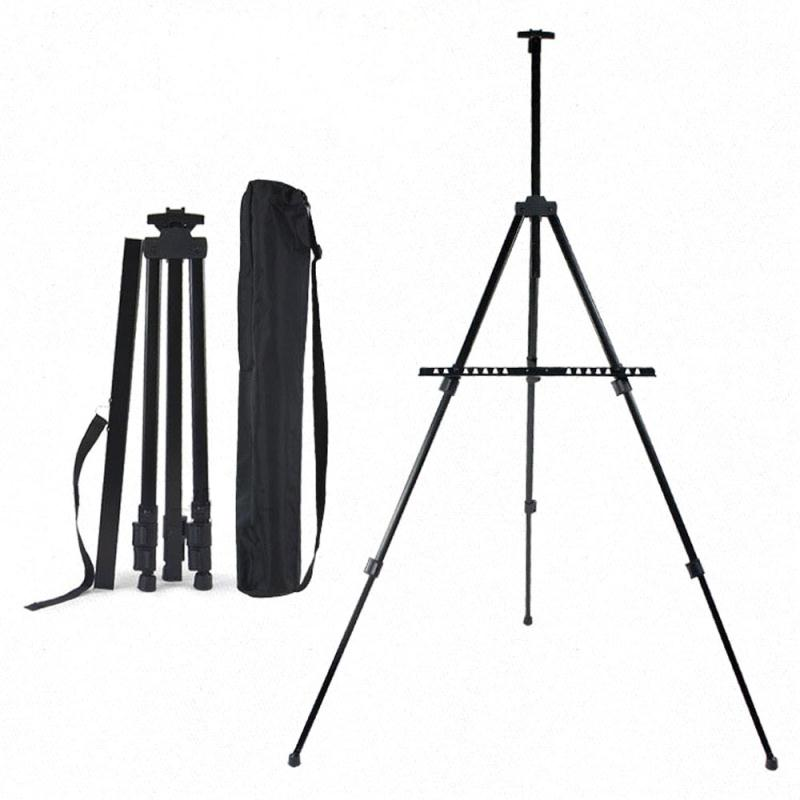 art tripod aluminum alloy display easel adjustable sketch painting easel portable folding easel for artist outdoor