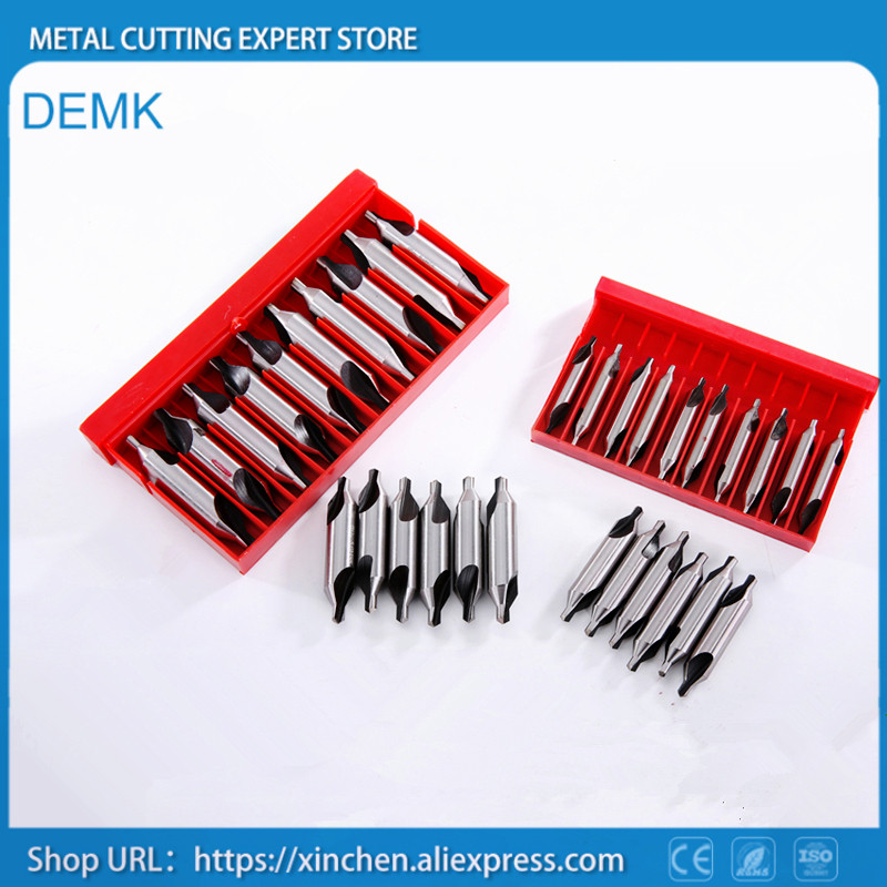 Center drill Chamfering Positioning A type 172 60 degree HSS 6542 Material Countersink Metalworking CNC Mechanical lathe 10pcs free shipping of 1pc hss 6542 made cnc full grinded hss taper shank twist drill bit 11 175mm for steel