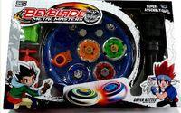 Retail 1Pcs Free Shipping 4pcs Set Beyblade Arena Spinning Top Metal Fight Beyblad Beyblade Metal Fusion