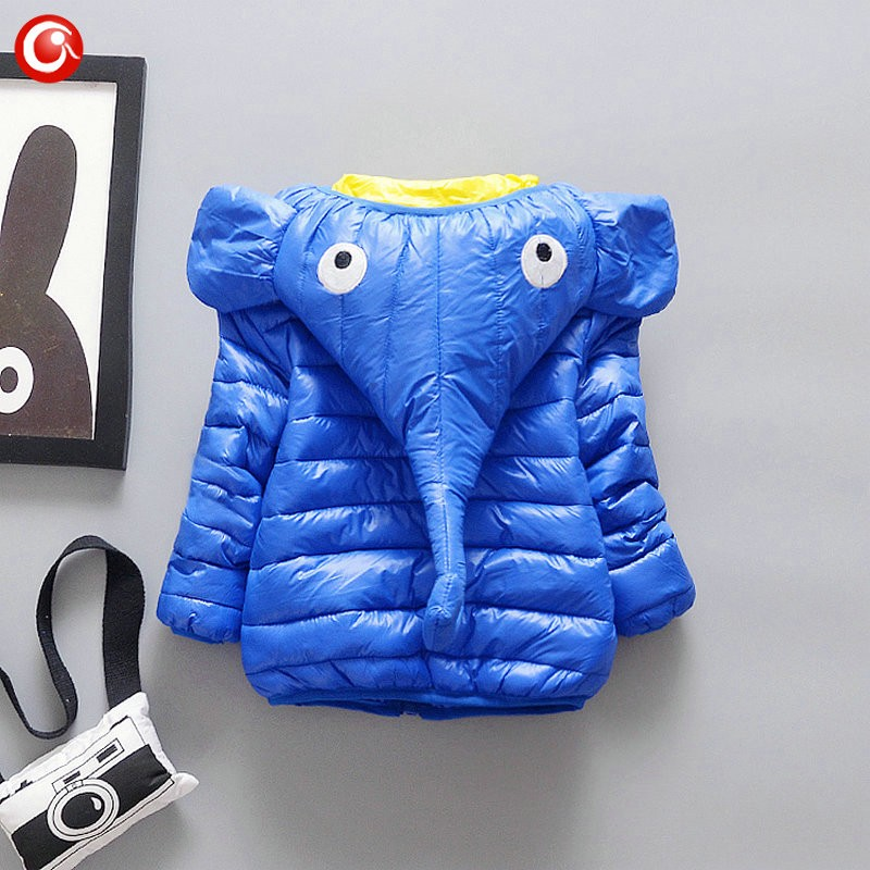 4-18M Babys Hoodies Snow Suit Infant Boys Elepant Animal Costume Christmas Winter Snow Wear Down Jacket And Coat Clothing (24)