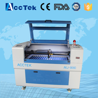 Acctek China Cheap Acctek 6090 Cnc Co2 Laser Cutting Machine Portable And Desktop Co2 Laser Engraver