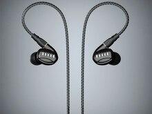 BGVP SIDY DM5 2 Balanced Armature + 2 Dynamic Hybrid 2BA + 2DD Hi-Fi DJ Music MMCX Detachable In-ear Earphone with 2 Cables