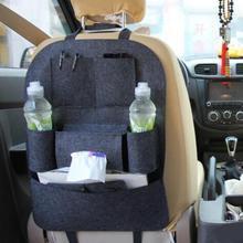 1PC กระเป๋า Universal กล่องกลับที่นั่ง Organizer Backseat ผู้ถือกระเป๋ารถจัดแต่งทรงผม Protector อุปกรณ์เสริมอัตโนมัติสำหรับเด็ก