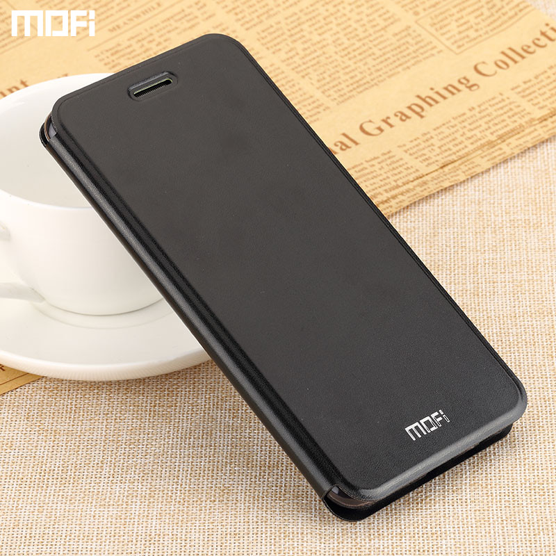 Redmi note 5 case Mofi for xiaomi redmi note 5 pro case flip cover stand holder PU leather capa coque funda book style shell