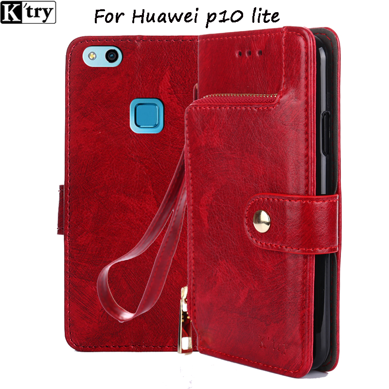 Huawei P10 Lite Case 2017 Luxury Flip Leather Case For Huawei P10 Lite Wallet Book Cover Hawei P10 P10Lite 5.2 Phone Cases ...