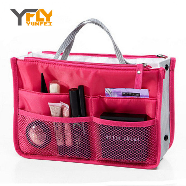 Y-FLY Makeup Bag Multi Function Travel Organizer Famous Brans