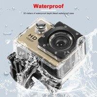 Camera Sports DV Video Camera 2 Inch Full HD 1080P 12MP 140 Degree Wide Angle 180