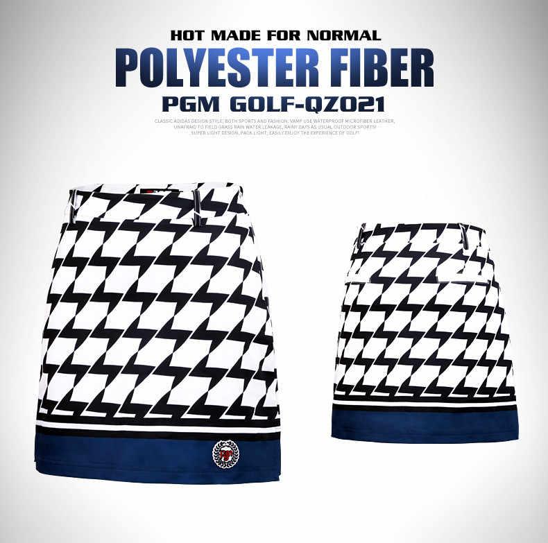 PGM/Брендовая женская юбка для гольфа для девочек, короткое клетчатое платье для отдыха и спорта тенниса, тонкие удобные дышащие трусы с подкладкой XS XL