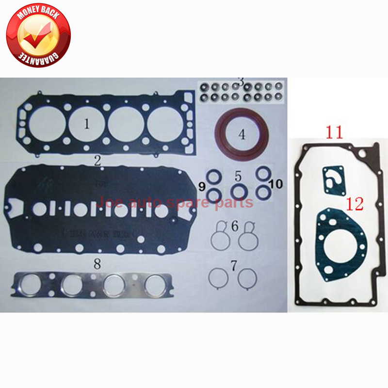 18K4G 18K4F Moteur Complet joint ensemble kit pour MG MGF RD TF 135 TF 120 ROVER 75 RJ 200 RF 1.8L 1.8 t 1995-09 LVQ000120 50186200
