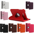 "360 Rotating Leather Stand Case Cover For Samsung Galaxy Tab 3 Lite 7.0 T110 7"" (Not for Samsung Galaxy Tab 3 7"")"