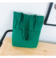 Canvas Tote Bag Grocery Tote Shopping Bag Foldable Eco friendly Supermarket Reusable Handbags Shoulder Large Capacity Woman Bags